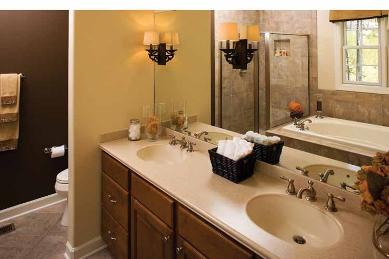 Country Interior - Master Bathroom Plan #929-701 - Houseplans.com