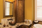 European Style House Plan - 3 Beds 3.5 Baths 3874 Sq/Ft Plan #929-929 Interior - Master Bathroom