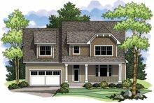 House Design - Craftsman Exterior - Front Elevation Plan #51-964