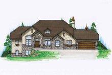 House Design - European Exterior - Front Elevation Plan #945-23