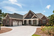 Home Plan - Traditional Exterior - Front Elevation Plan #929-874
