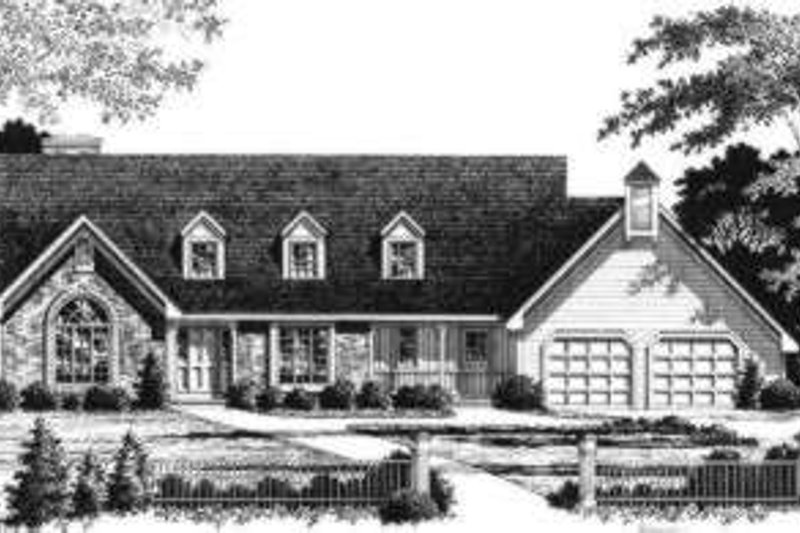 Traditional Style House Plan - 3 Beds 3 Baths 3038 Sq/Ft Plan #328-108
