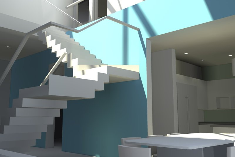 Modern Interior - Other Plan #64-206 - Houseplans.com