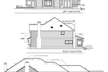 House Design - Traditional Exterior - Rear Elevation Plan #100-425