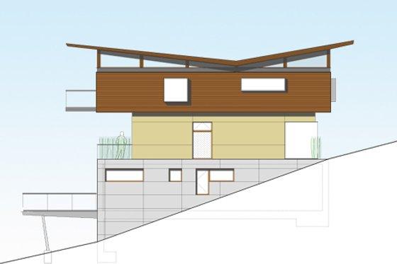 Modern Exterior - Front Elevation Plan #469-1