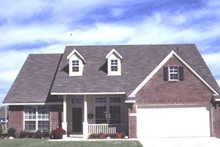 Dream House Plan - Traditional Exterior - Front Elevation Plan #20-171