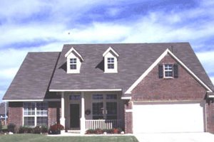Traditional Exterior - Front Elevation Plan #20-171