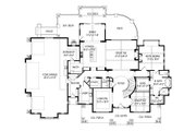 Craftsman Style House Plan - 3 Beds 3.5 Baths 4755 Sq/Ft Plan #920-111 Floor Plan - Main Floor