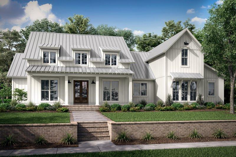 House Plan Design - Farmhouse Exterior - Front Elevation Plan #430-251