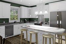 Home Plan - Cottage Interior - Kitchen Plan #44-246