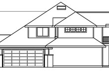 Traditional Exterior - Other Elevation Plan #124-541