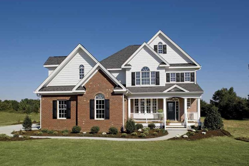 Country Exterior - Front Elevation Plan #929-657