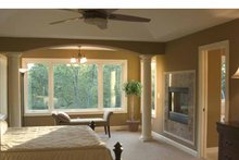 Country Interior - Master Bedroom Plan #51-1121