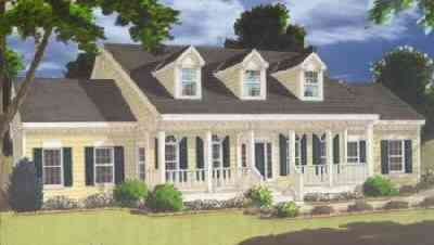 Country Exterior - Front Elevation Plan #3-225