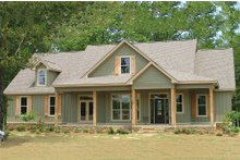 Dream House Plan - Country Exterior - Front Elevation Plan #63-270
