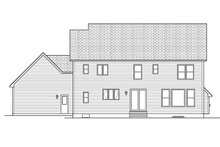 Traditional Exterior - Rear Elevation Plan #1010-131