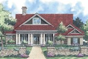 Ranch Style House Plan - 3 Beds 2.5 Baths 2555 Sq/Ft Plan #930-232 Exterior - Front Elevation