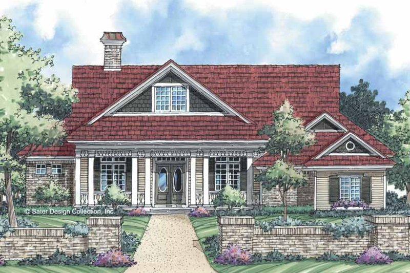 Ranch Exterior - Front Elevation Plan #930-232 - Houseplans.com