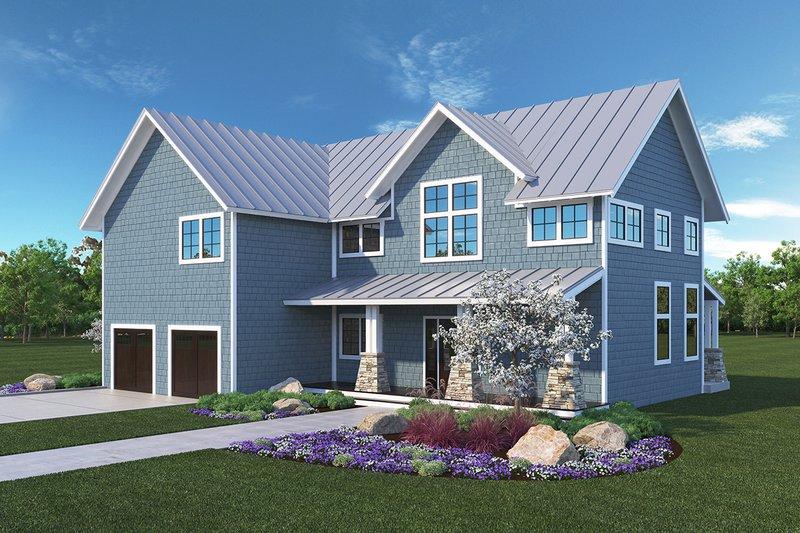 House Plan Design - Farmhouse Exterior - Front Elevation Plan #1068-3
