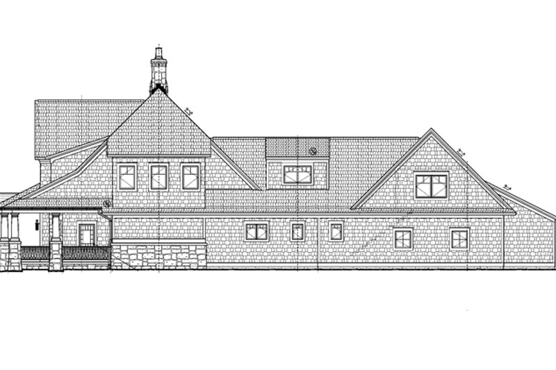 Craftsman Exterior - Other Elevation Plan #928-185 - Houseplans.com