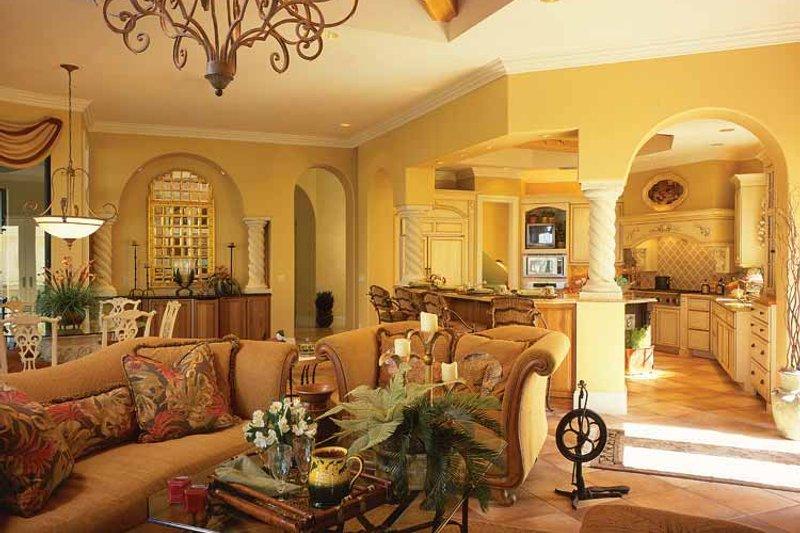 Mediterranean Interior - Kitchen Plan #930-34 - Houseplans.com
