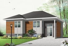 Contemporary Exterior - Front Elevation Plan #23-2578