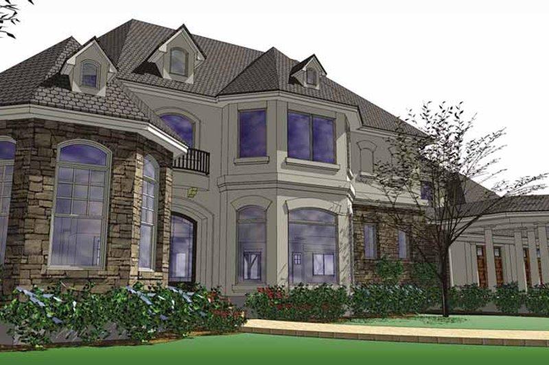 House Plan Design - European Exterior - Front Elevation Plan #120-219