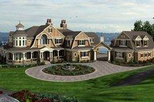 Craftsman Exterior - Front Elevation Plan #132-565