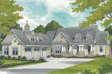Dream House Plan - Craftsman Exterior - Front Elevation Plan #453-633