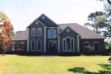 Home Plan - Traditional Exterior - Front Elevation Plan #37-117