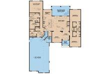 European Floor Plan - Main Floor Plan Plan #923-8
