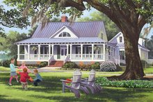 House Plan Design - Traditional Exterior - Front Elevation Plan #137-367