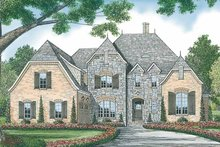 House Plan Design - Country Exterior - Front Elevation Plan #453-449