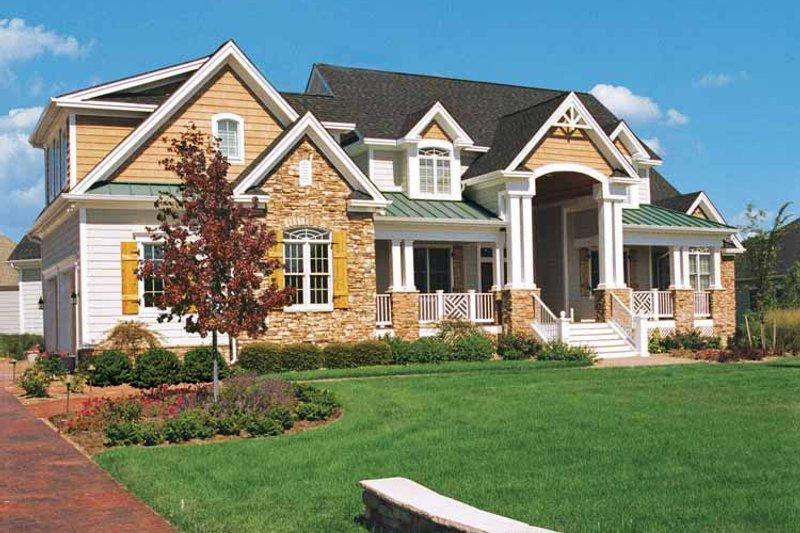 Craftsman Exterior - Front Elevation Plan #929-361 - Houseplans.com