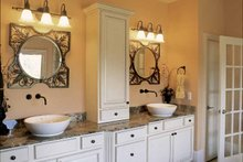 Dream House Plan - Country Interior - Master Bathroom Plan #927-854