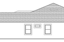 House Plan Design - Mediterranean Exterior - Other Elevation Plan #1058-126