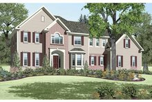 House Plan Design - Colonial Exterior - Front Elevation Plan #328-450