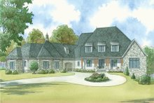 House Design - Country Exterior - Front Elevation Plan #923-42