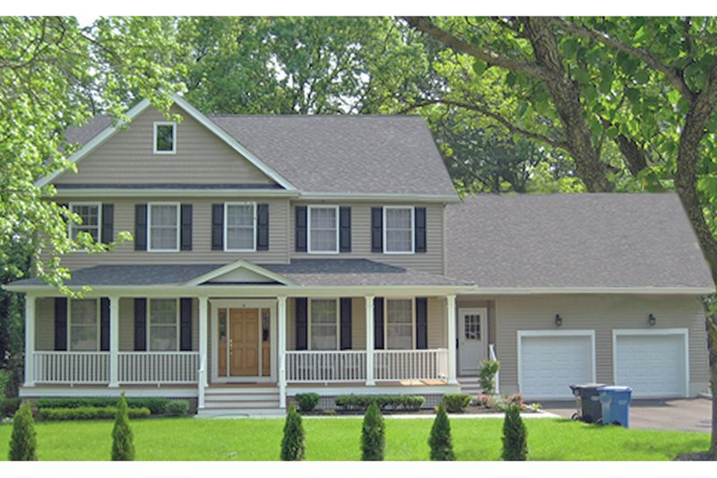 Architectural House Design - Traditional Exterior - Front Elevation Plan #1053-59