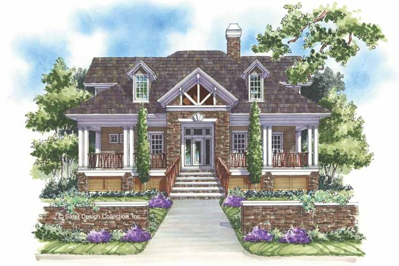 Home Plan - Craftsman Exterior - Front Elevation Plan #930-145