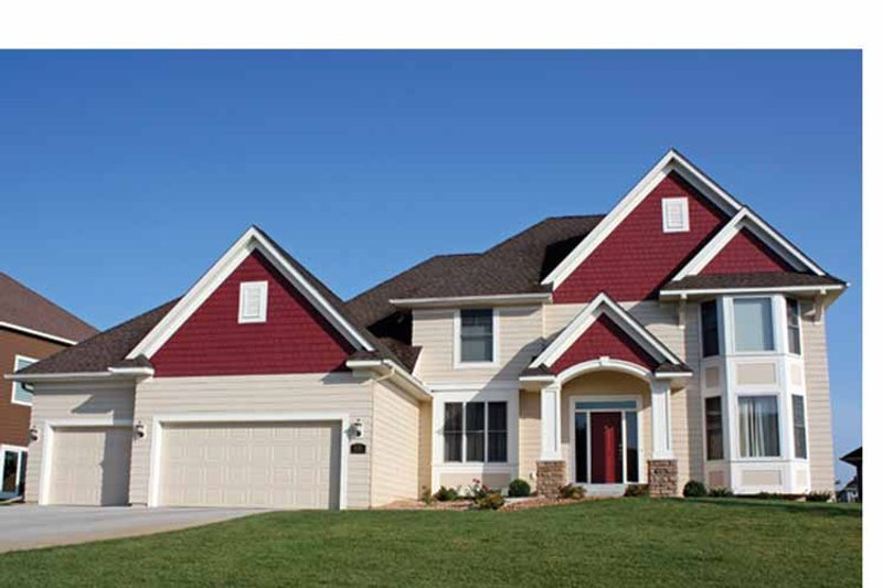 House Plan Design - Traditional Exterior - Front Elevation Plan #51-1095