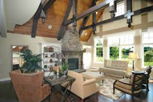 House Plan Design - European Interior - Family Room Plan #928-28