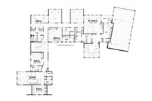 Traditional Floor Plan - Upper Floor Plan Plan #928-247
