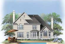 House Design - Traditional Exterior - Rear Elevation Plan #929-764