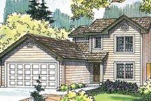 House Design - Exterior - Front Elevation Plan #124-470