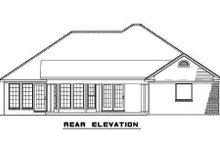 House Plan Design - Traditional Exterior - Rear Elevation Plan #17-2291