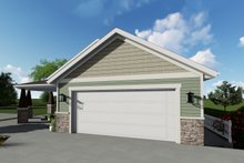 Ranch Exterior - Front Elevation Plan #1060-40