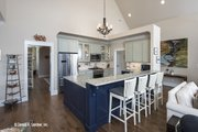European Style House Plan - 3 Beds 2.5 Baths 2170 Sq/Ft Plan #929-859 Interior - Kitchen