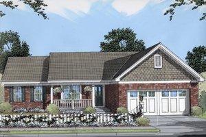House Design - Cottage Exterior - Front Elevation Plan #46-116