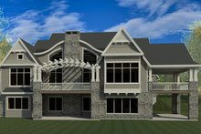 House Design - Craftsman Exterior - Rear Elevation Plan #920-42